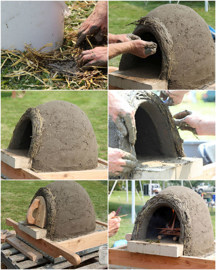 These People Made The Perfect Pizza Oven Using Mud