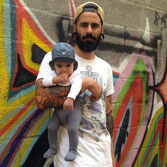 Tattooed Parents Take Beautiful Portraits With Their Children
