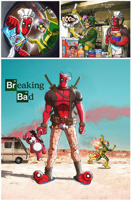 These Pop Culture Mash Ups Are Absolutely Perfect