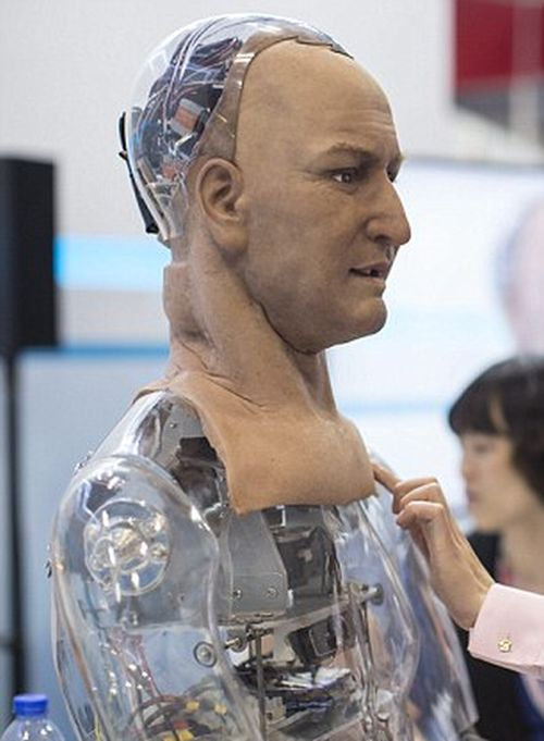 This Amazing Humanoid Robot Can Make Lifelike Facial Expressions