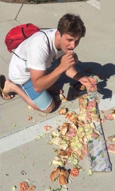 Epic Sandwich Fail