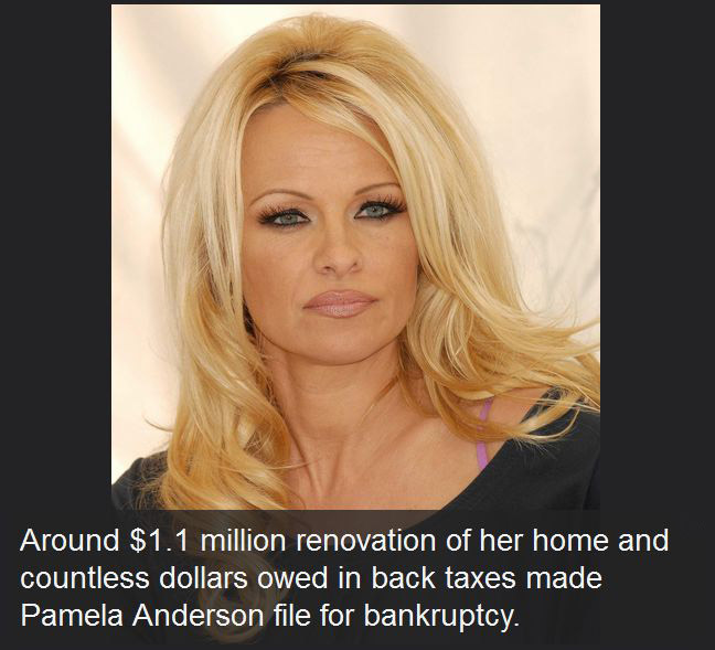 17 Celebrities Who Are Really Bad With Money