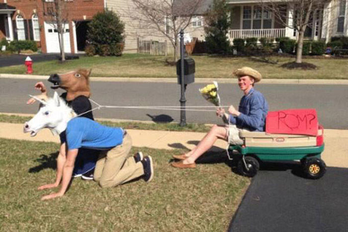 Prom Proposals That Might Have Been A Little Over The Top