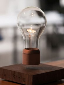 This Amazing Levitating Light Bulb Will Work Without Being Plugged In