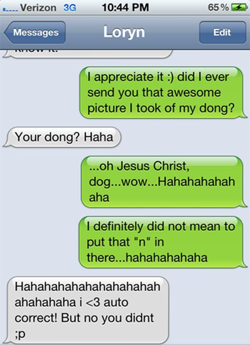 Those Times When Autocorrect Creates Awkward Moments