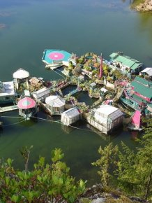 Couple Goes Off The Grid And Builds Their Own Island
