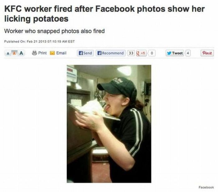 People Who Lost Their Jobs Because Of Social Media Posts
