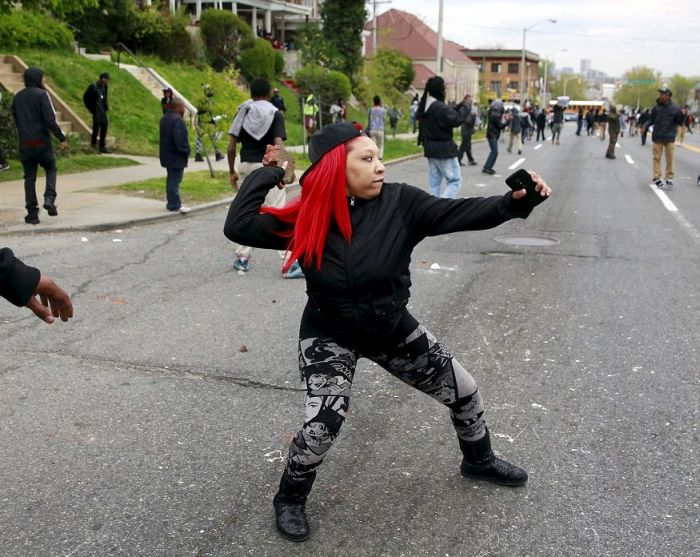 Baltimore Is Burning To The Ground As Rioters Takeover The City