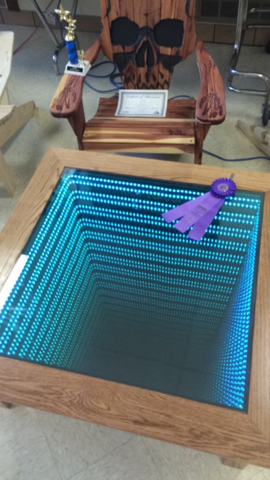 This Man's Infinity Table Will Blow Your Mind