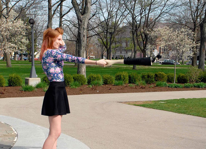 This Selfie Stick Looks Like An Arm So People Will Think You Have Friends