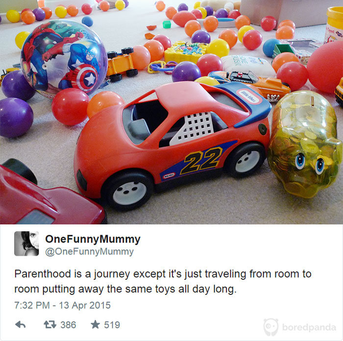 The Truth About Parenting Summed Up In A Series Of Tweets