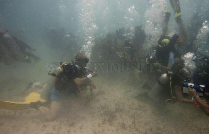 Underwater Wedding , part 2