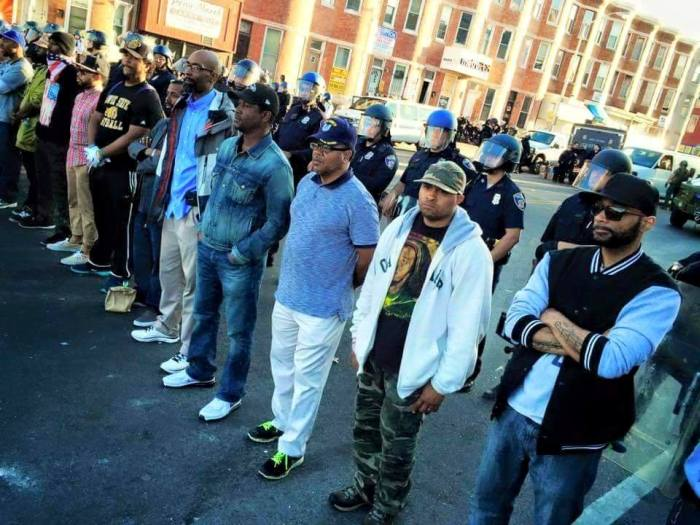 Baltimore Protest Pictures The Media Isn't Showing You