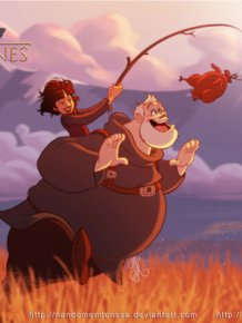 If Game Of Thrones Characters Appeared In Disney Movies