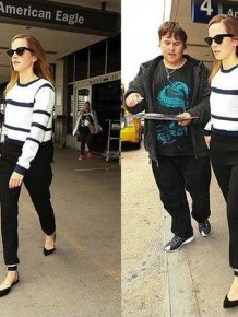 Emma Watson Snubs A Fan At The Airport