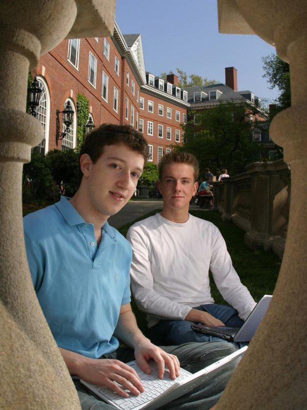 Mark Zuckerberg Harvard photos