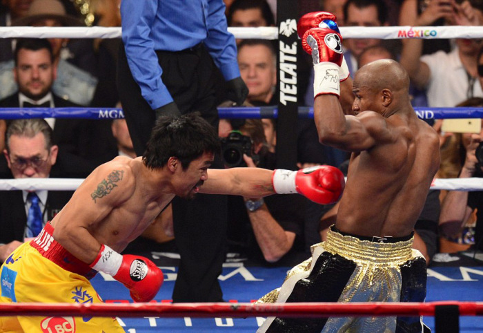 Floyd Mayweather Wins One Of The Biggest Boxing Matches In History