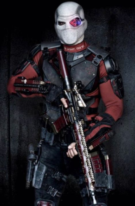 Will Smith's Deadshot Costume From Suicide Squad Revealed