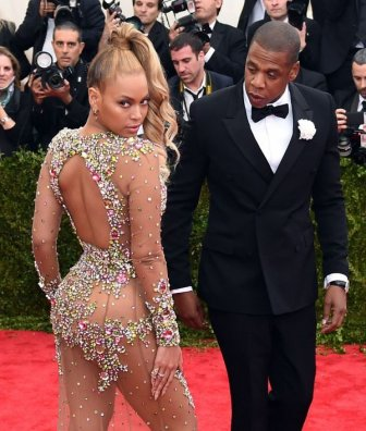 Beyonce Stuns Everyone As She Shows Up To Met Gala Nearly Nude
