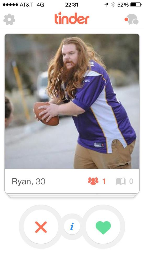 This Bearded Guy Might Have The Best Profile On Tinder