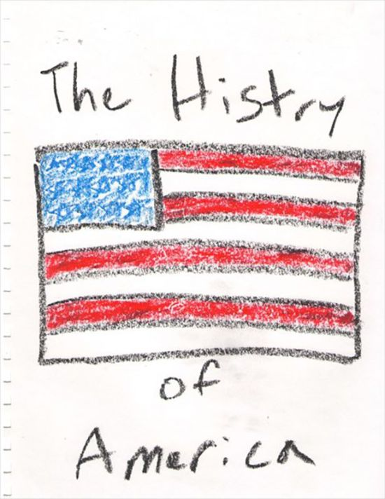 What It Looks Like When A 5 Year Old Explains The History Of America