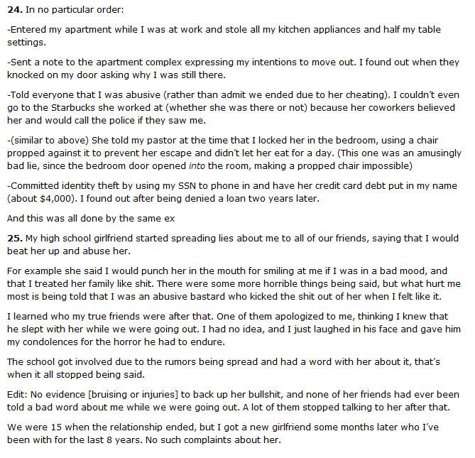 25 Guys Tell Their Crazy Ex-Girlfriend Stories