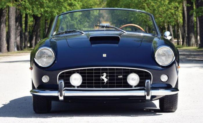 Rare Ferrari 250GT California Spider Is Worth A Lot Of Money