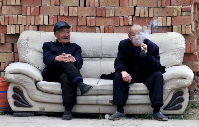 Candid Photos Show A Different Side Of Life In China