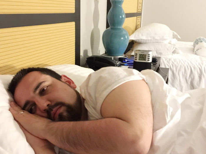Sad Vacation Man Finally Gets The Vacation He Dreamed About