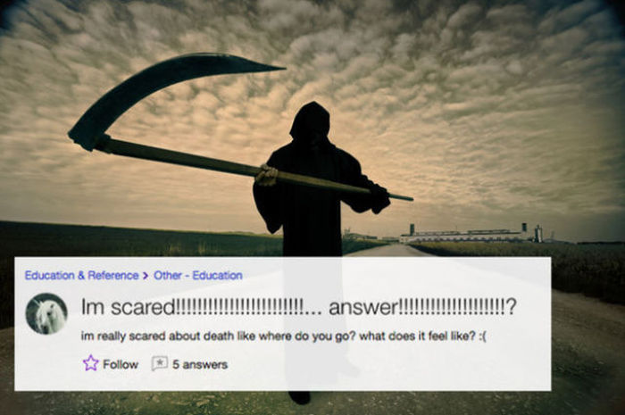 Out Of Control Questions You Will Only Find On Yahoo Answers