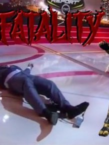 Shaq Took A Dive On ESPN And Now He's The Internet's Favorite Meme