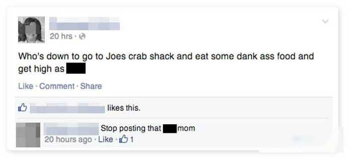 Someone Needs To Get These Moms Off Of Facebook Right Away