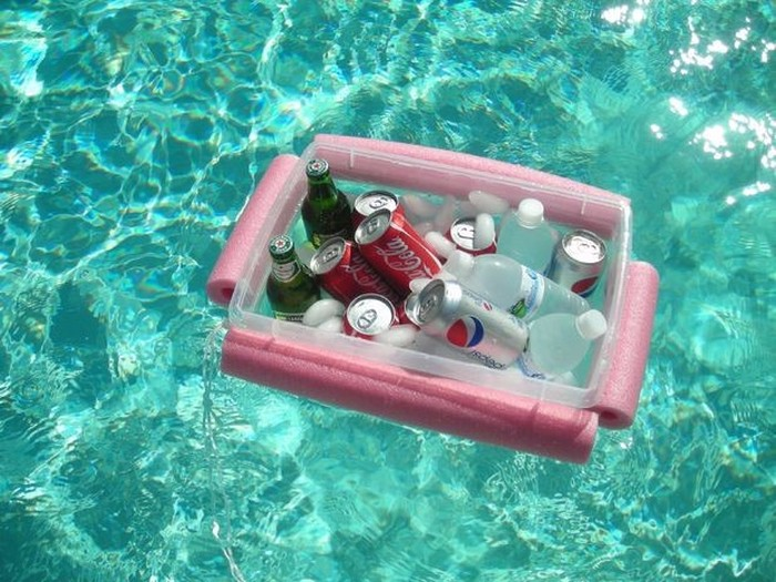 This DIY Floating Cooler Is Perfect For Summer