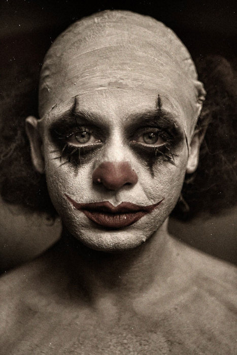 These Clown Portraits By Eolo Perfido Are Beyond Terrifying