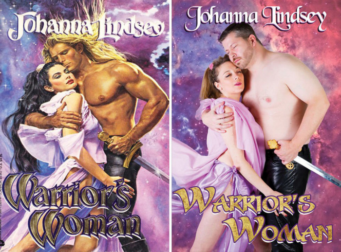 Average People Recreate The Covers Of Romantic Novels