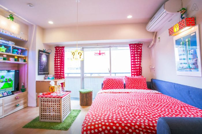This Tokyo Apartment Is A Super Mario Fan's Dream Come True