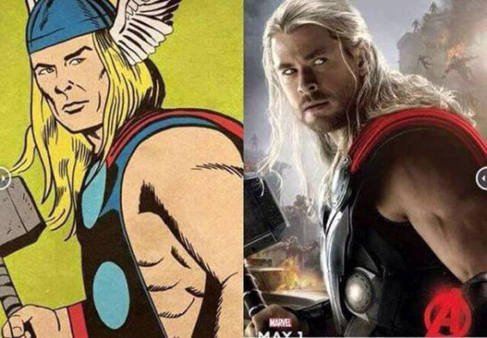 What The Comic Book Avengers Look Like Compared To Their Film Adaptations