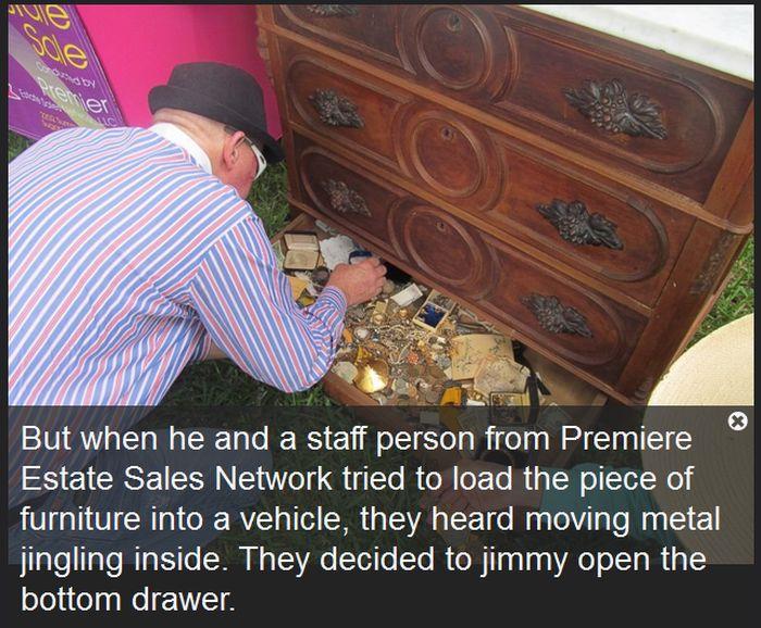 Texas Man Finds Hidden Treasure At An Estate Sale