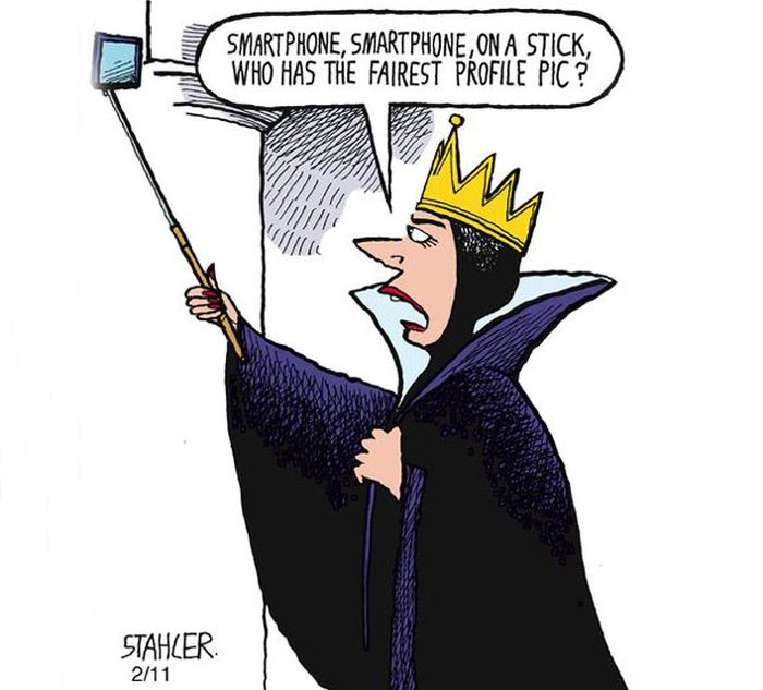 Clever Cartoons Show How Addicted People Are To Smartphones