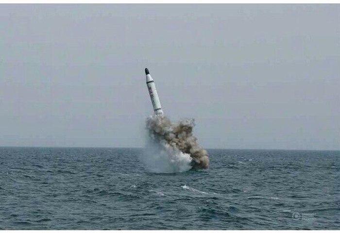 North Korea Testing Submarine Based Ballistic Missiles