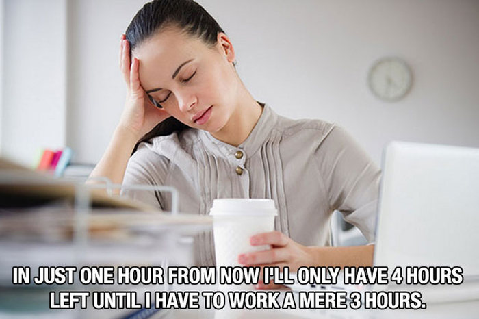 Thoughts We've All Had While Working At The Office