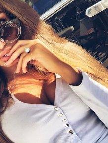Girls wearing sunglasses