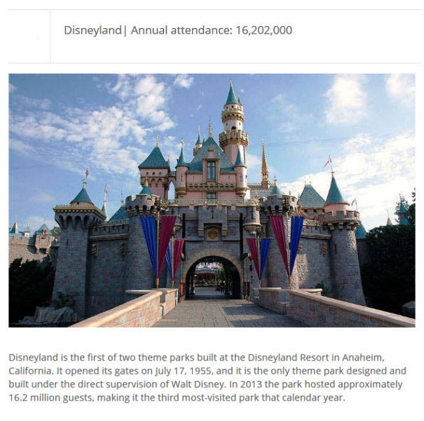 These Are The Most Popular Theme Parks In The World