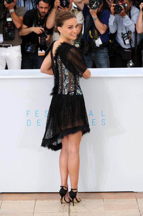 Natalie Portman Showed Off Her Beautiful Backside At
