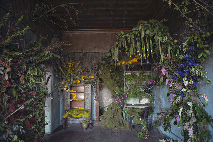 This Abandoned House In Detroit Was Turned Into Something Beautiful