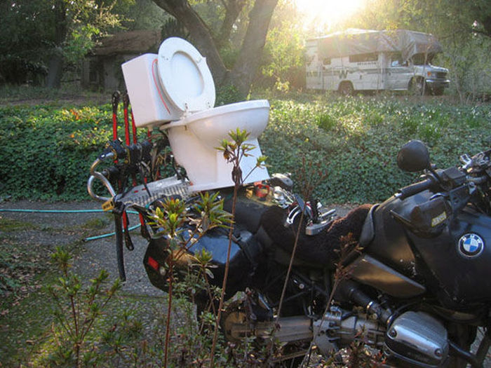 These People Prove That Anything Can Be Transported On A Motorcycle