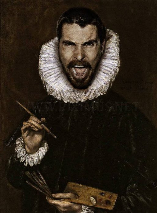 Modern Celebrities in Classic Paintings