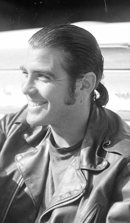 A Young George Clooney Had Long Hair And Sideburns In 1989, part 1989