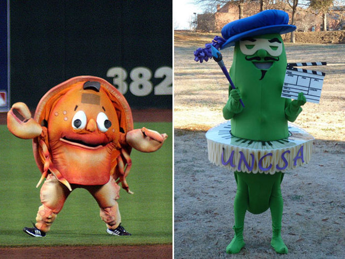 These Horrible Mascots Are The Worst