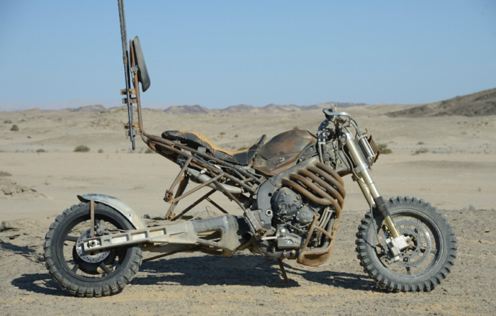 A Closer Look At The Motorcycles From Mad Max: Fury Road